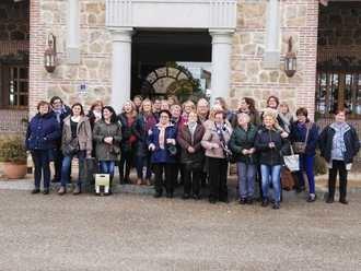 La Asociación Mujeres del 2000 de Yebra visitó tierras toledanas en su viaje cultural de otoño