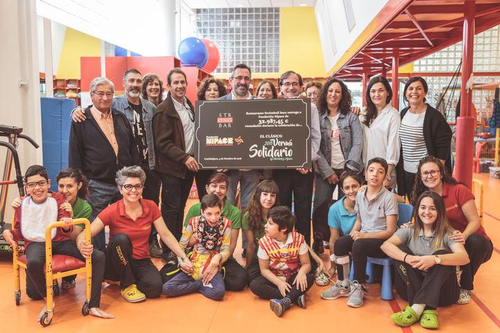 El V Vermú Solidario recauda casi 33.000 euros para la Fundación Nipace