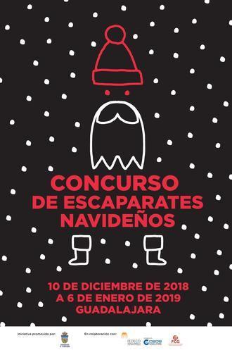 30 establecimientos participarán este año en el Concurso de Escaparates Navideños de Guadalajara