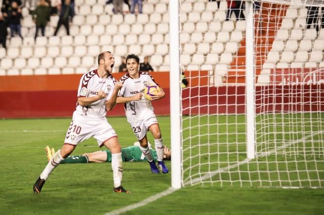 El fútbol fue justo con el Alba