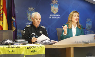 Más de 2.000 alumnos recibirán formación en seguridad vial durante este curso a través de la Policía Local de Guadalajara
