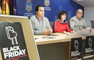 """Este """"Viernes Negro"""" 50 establecimientos de Guadalajara participan en una campaña de dinamización comercial"""