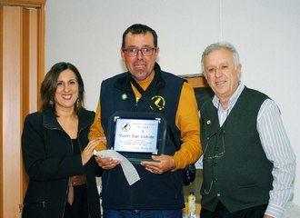 Yolanda Ramírez ha entregado los Premios del VI Concurso-Liguilla de canto timbrado español en El Casar