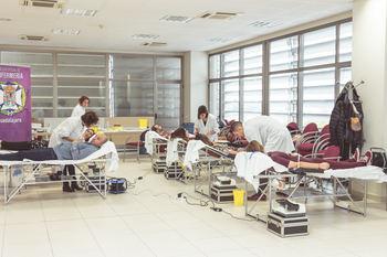 Récord de donaciones en el III Maratón de Donación de Sangre del Colegio de Enfermería de Guadalajara