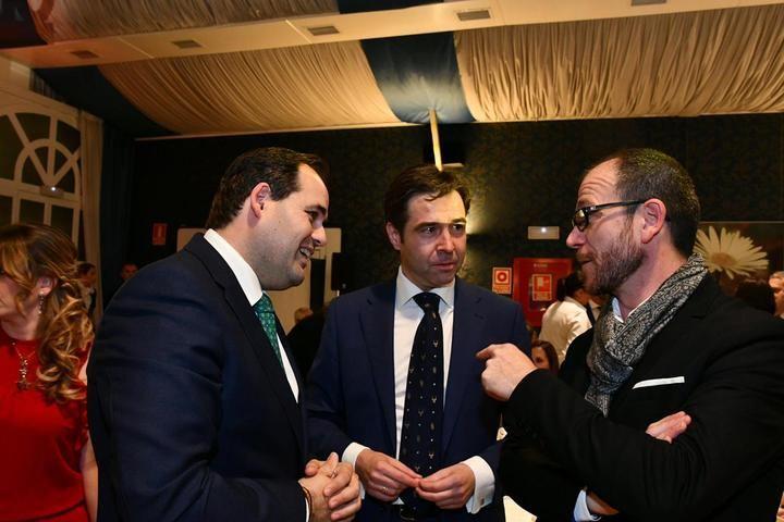 Paco Nuñez en la celebración de los Premios Excelencia Empresarial 40º aniversario CEOE-CEPYME en Guadalajara