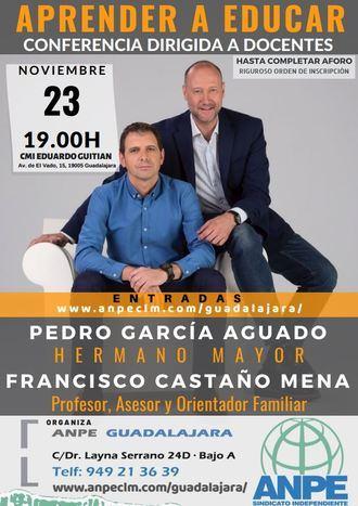 ANPE Guadalajara se trae a Pedro García Aguado y Francisco Castaño para una charla