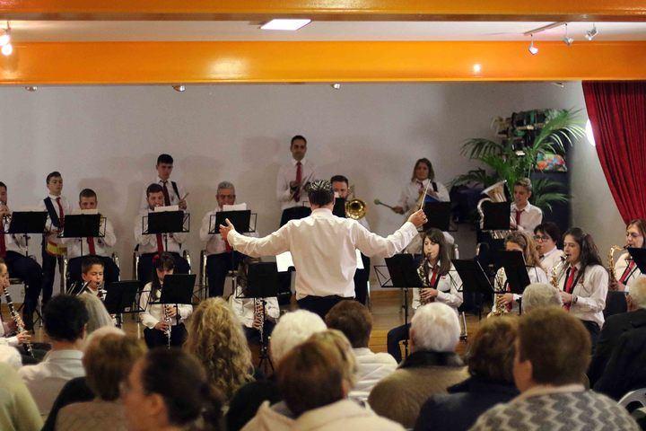 El próximo domingo, tradicional concierto de Santa Cecilia de la Banda de Fuentenovilla