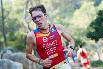 Aitor Ramírez, atleta de ascendencia fuentenovillera, subcampeón de Europa de Duatlón Cross