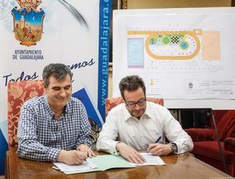 Firmado el contrato para la ejecución del nuevo parque de ocio deportivo en Los Manantiales