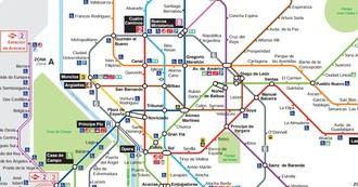 Dos estaciones del Metro de Madrid cambian a partir de este sábado su nombre