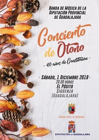 La Banda de la Diputación ofrecerá un Concierto conmemorativo de los 40 años de la Constitución el sábado 1 en Sigüenza