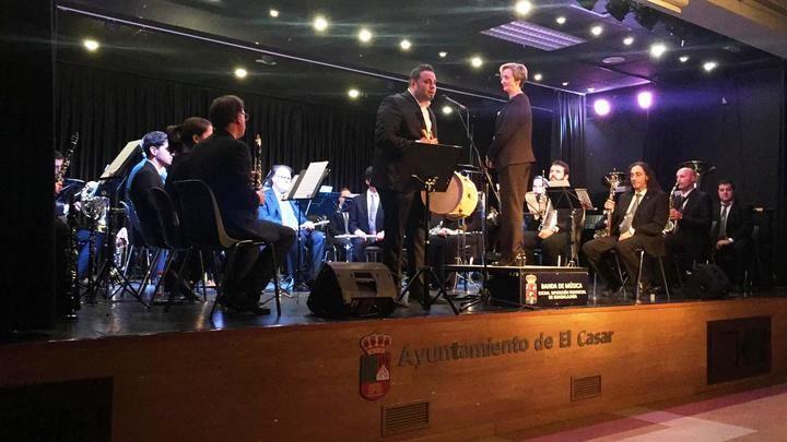 La Banda de la Diputación ofreció un brillante concierto de otoño en El Casar