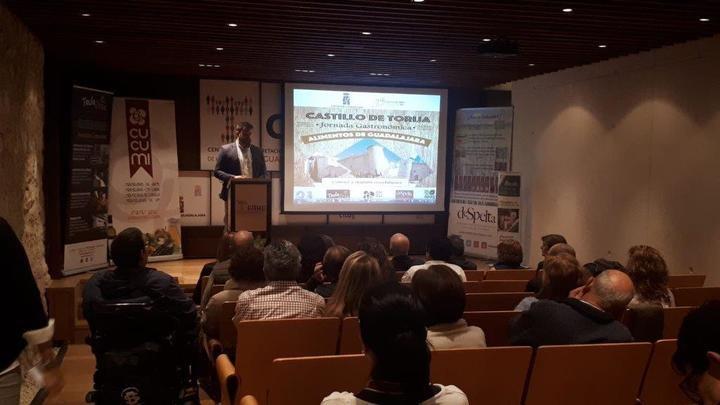 Exitosa Jornada Gastronómica en el castillo de Torija organizada por la Diputación