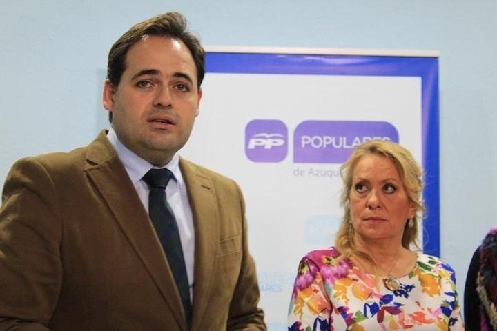 Núñez afirma en Azuqueca que si gobierna en C-LM bajará los impuestos a las empresas que quieran instalarse en la región