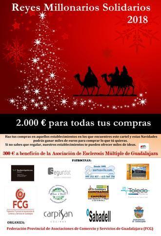 """Los """"Reyes Millonarios"""" vuelven un año más cargados de premios y solidaridad"""