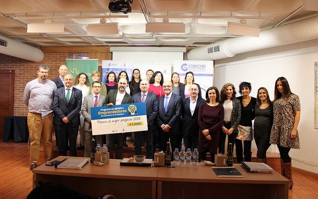 MostTAZA ha sido el proyecto ganador de los 3.000 euros del premio Emprendedores de Guadalajara