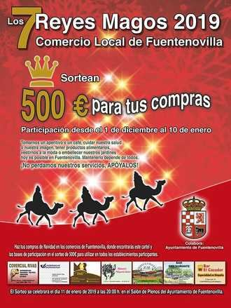 Campaña para la defensa del comercio local en Fuentenovilla