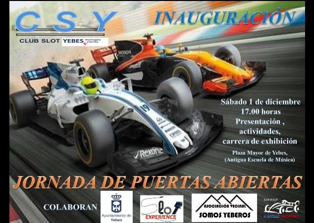 El macrocircuito de Scalextric de Yebes será la sede del primer club de slot de la provincia de Guadalajara
