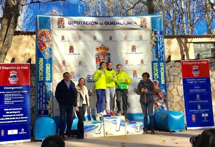 Juan Manuel Campos se impuso en la XII Carrera del Centenario celebrada en Brihuega