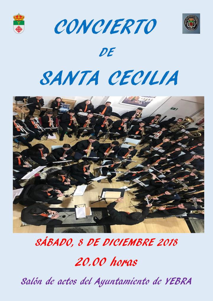 La Banda de Música Municipal de Yebra celebra su ya tradicional Concierto de Santa Cecilia
