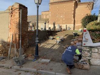 A punto de concluir varias obras de mejora del urbanismo en Quer