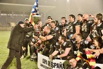 El Badalona Dracs revalida en Guadalajara el título de la Copa de España senior de Fútbol Americano ante el Black Demons (24-0)