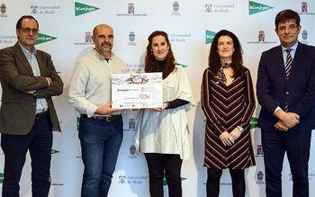 El Corte Inglés/Hipercor de Guadalajara entrega 723 euros a la Universidad de Alcalá