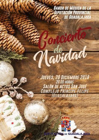 La Banda de la Diputación ofrecerá el próximo jueves en el San José su tradicional Concierto de Navidad