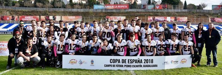Triunfo claro de LG OLED Las Rozas Black Demons en la final de la Copa de España junior disputada en Guadalajara