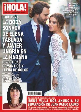 ¡HOLA! Irene Villa anuncia su separación de Juan Pablo Lauro