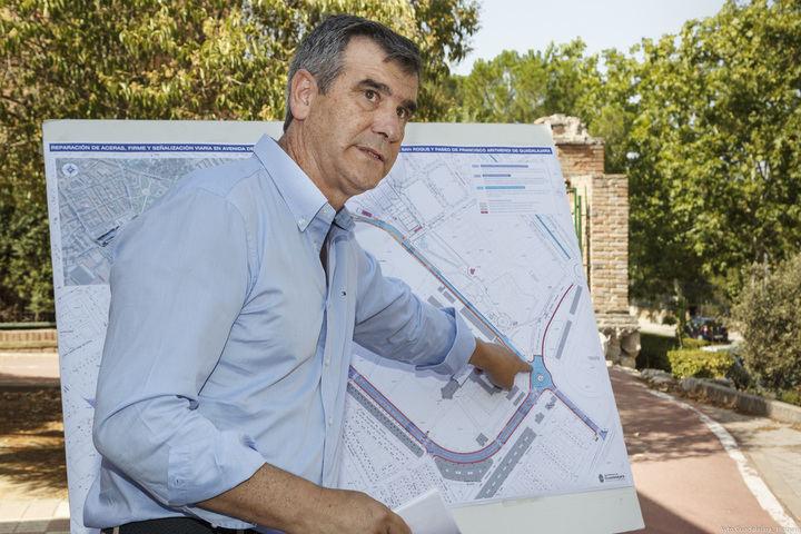 La semana que viene comienzan los trabajos de mejora en parte del barrio de Adoratrices de Guadalajara