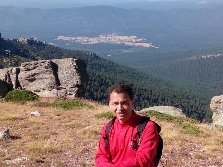 Vicente García Campo, ganador del premio de narrativa 'Camilo José Cela' 2018 de la Diputación de Guadalajara