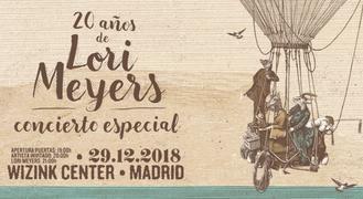 Quince días para el concierto de LORI MEYERS en el Wizink Center de Madrid