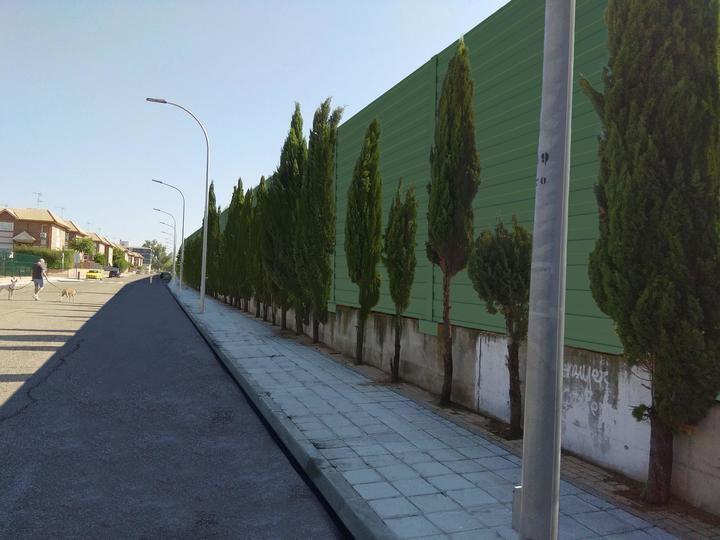 Adjudicada la instalación de pantallas acústicas junto a la vía del tren en Azuqueca