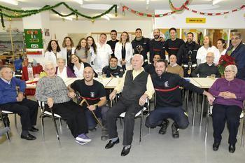 Los bomberos de Guadalajara no faltaron a su cita navideña con el Hospital de Guadalajara
