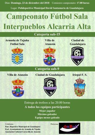 La cantera de la Alcarria Alta vuelve a medirse en Guadalajara