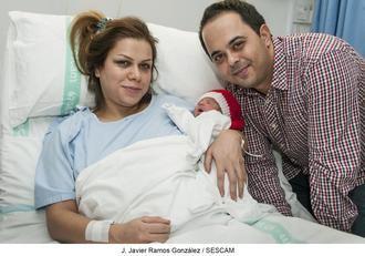 Adrián ha sido el primer bebé nacido en Guadalajara en este 2019