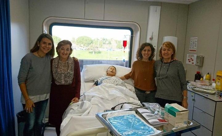 Profesionales de Alergología del Hospital de Guadalajara exponen una ponencia en un curso especializado en Barcelona