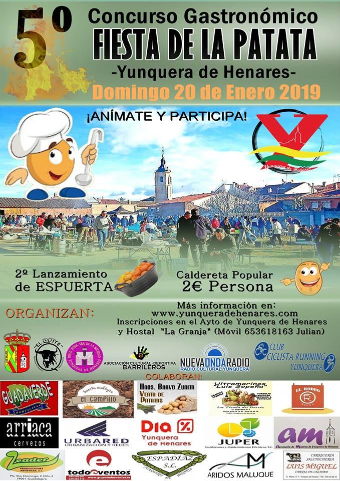 Yunquera celebra el domingo la quinta edición de la 'Fiesta de la Patata'