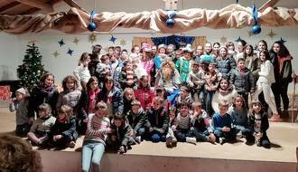 Málaga del Fresno disfrutó de su Cabalgata de Reyes
