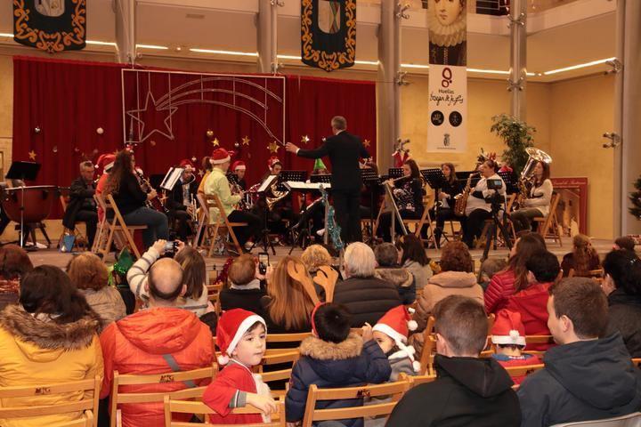 La Banda de Pastrana repasa musicalmente la Navidad