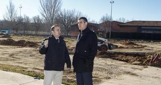 El nuevo parque de ocio deportivo de Los Manantiales estará terminado en primavera