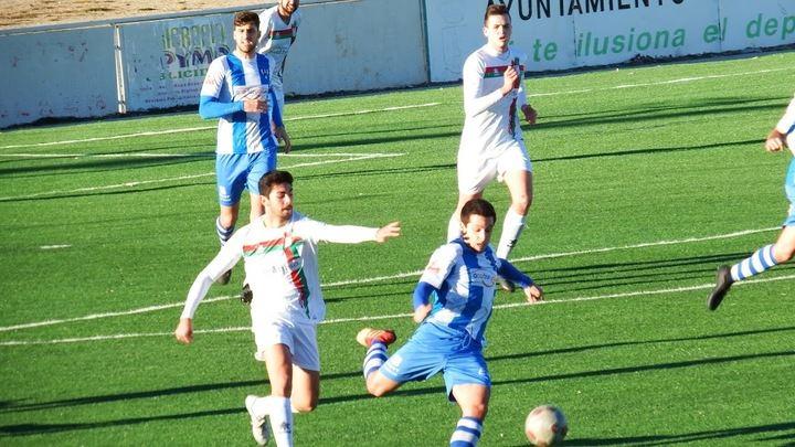 El Hogar Alcarreño, 1-0, cae en Cabanillas