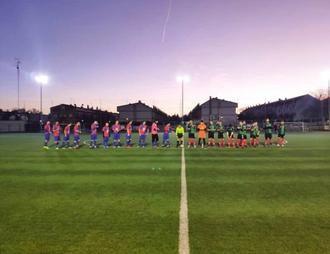 El CD Sigüenza logra una contundente victoria a domicilio ante el Dinamo Guadalajara