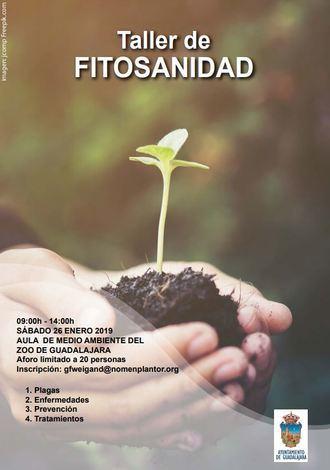 El sábado 26 de enero en el Aula de Medio Ambiente del Zoo de Guadalajara, Taller de Fitosanidad