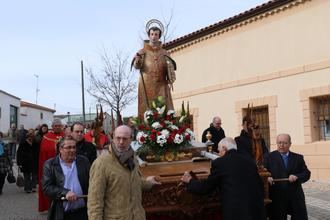 Quer honra a San Vicente, patrono de la villa setera