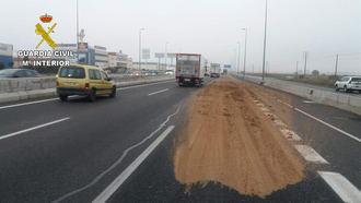 La Guardia Civil investiga a una persona en Azuqueca de Henares por arrojar sustancias deslizantes en la A2