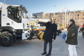 El Ayuntamiento de Guadalajara cuenta con un amplio dispositivo material y humano para nevadas y heladas