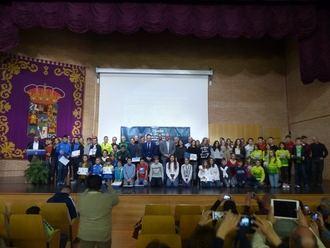 Gran Gala de entrega de premios de los Circuitos de Carreras Populares y de Montaña organizados por la Diputación de Guadalajara