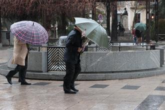 7ºC de mínima y 12ºC de máxima este jueves en Guadalajara que está en alerta por fuertes rachas de viento